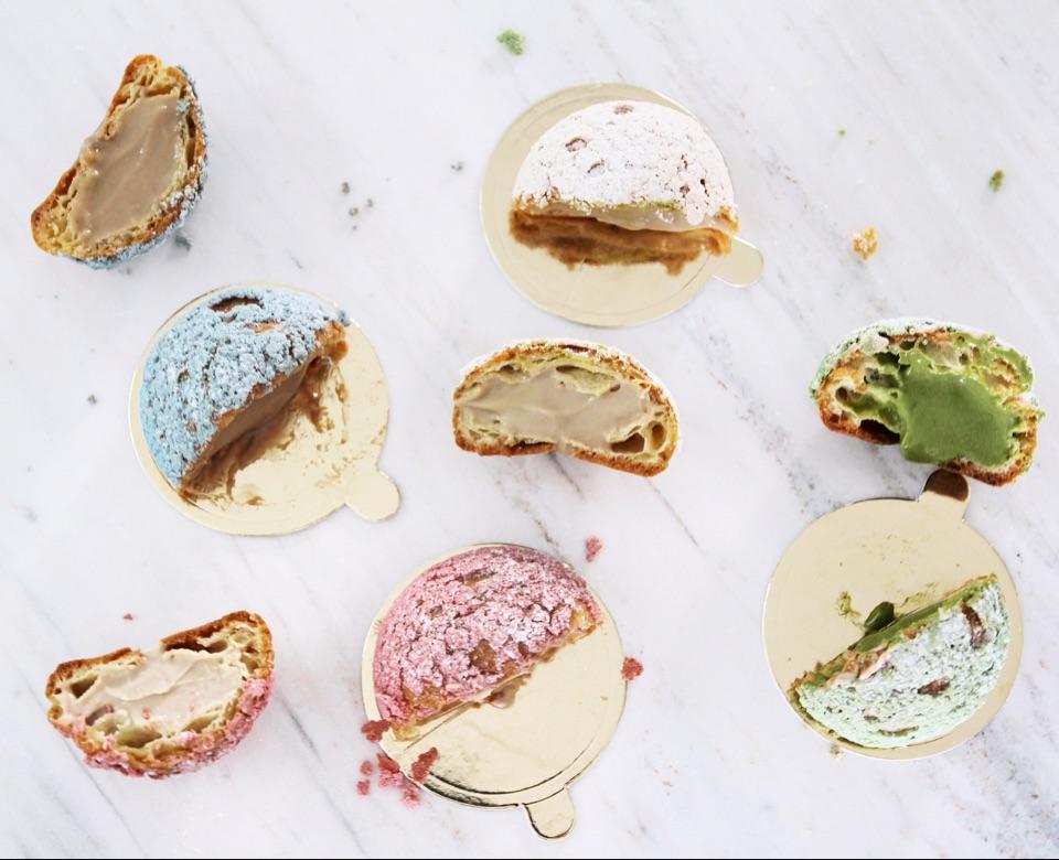 Fantastic tea-flavoured cream puffs