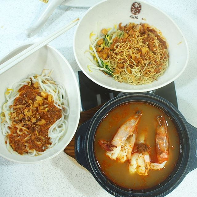 Though its fresh big prawn, the soup is great, i felt its overly priced $20 for 3 big prawn.
