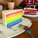 Only $5 for a slice of rainbow heaven.