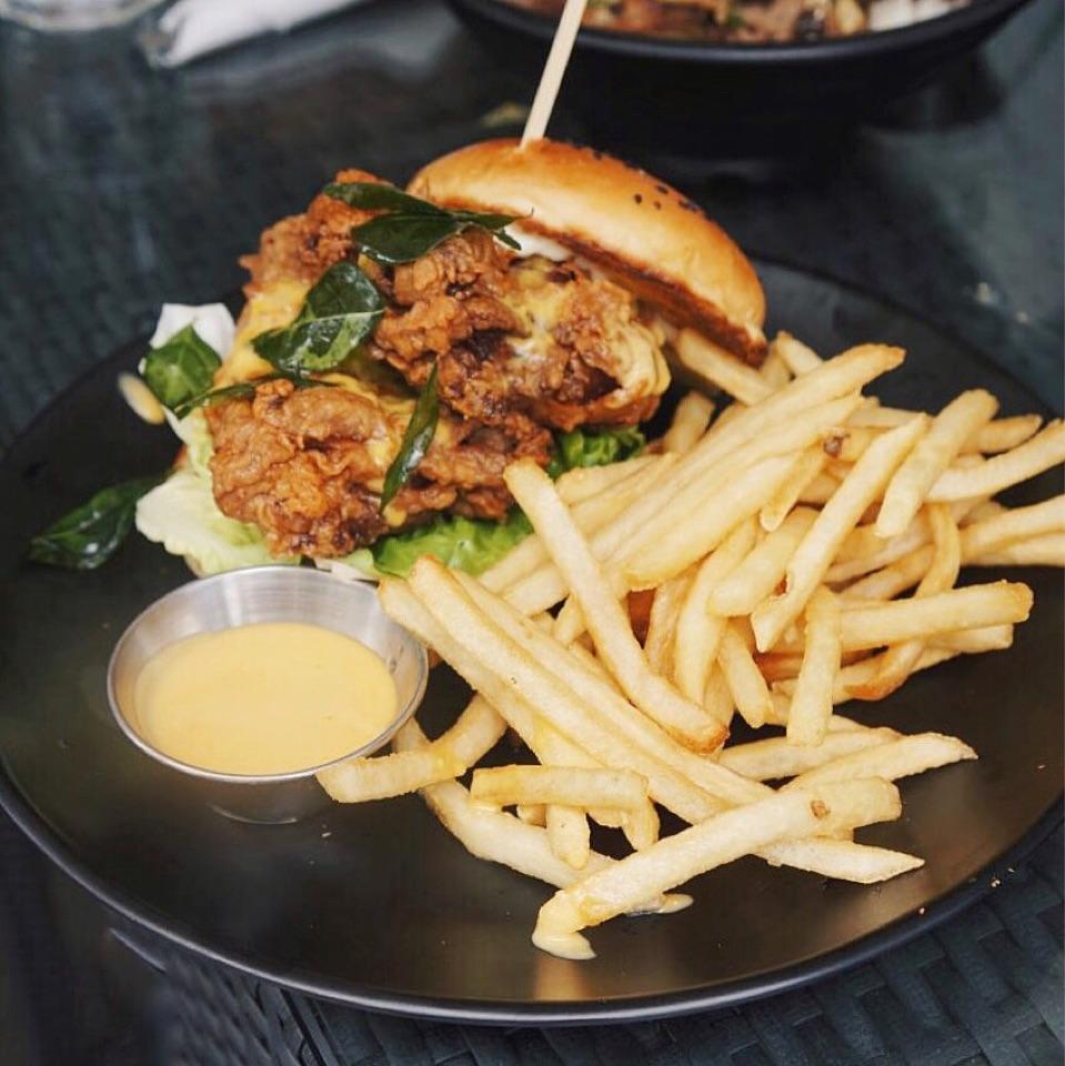 Double Confirm Shiok Burger (~$22)