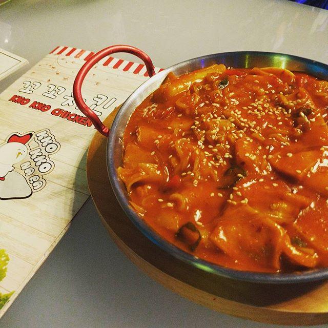 Ddeok Bok Gi #burpple #foodporn #dinner #korean