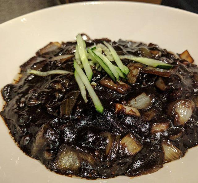 Jajangmyeon #burpple #foodporn #supper #korean