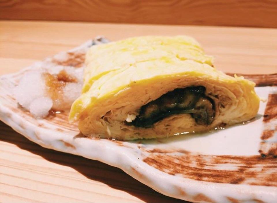 Unagi Omelette