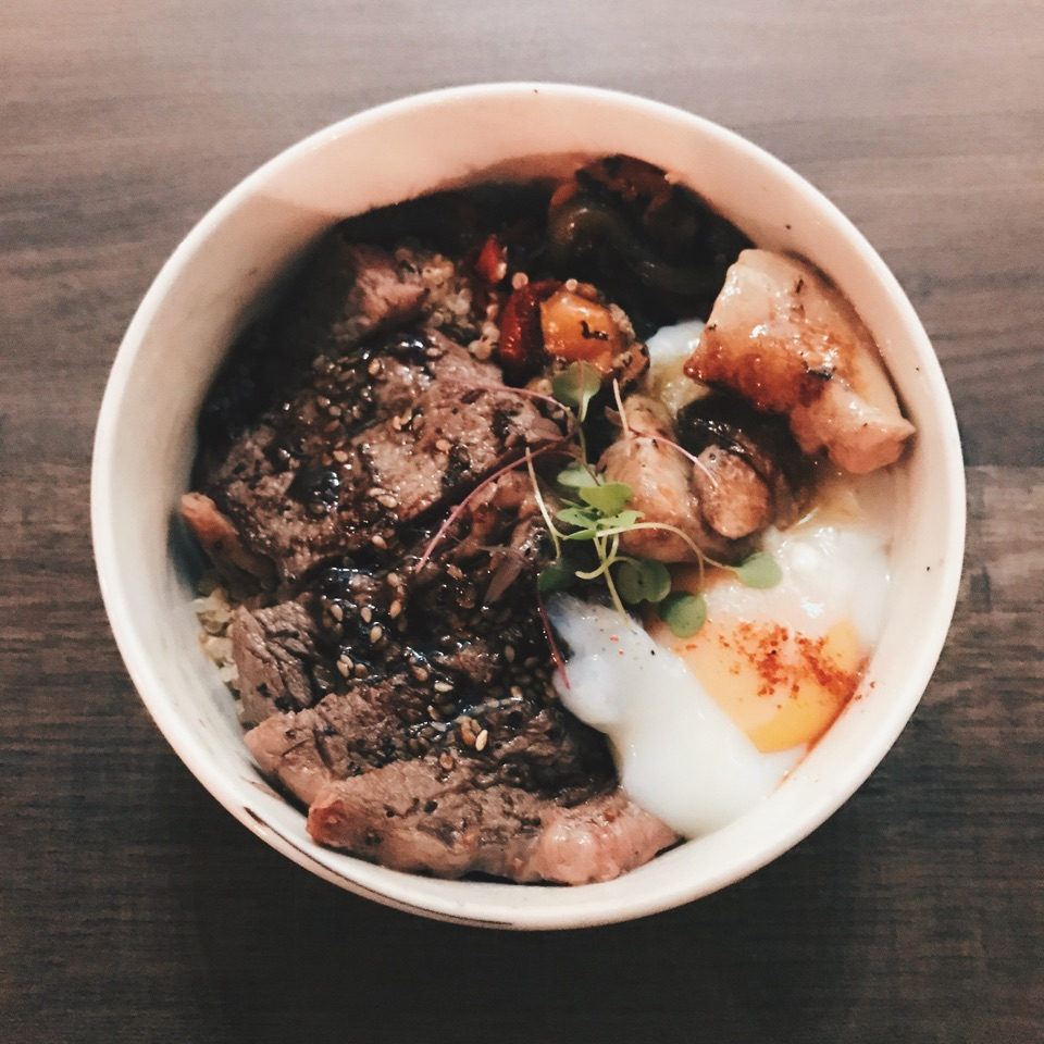 Ribeye Bowl With Foie Gras