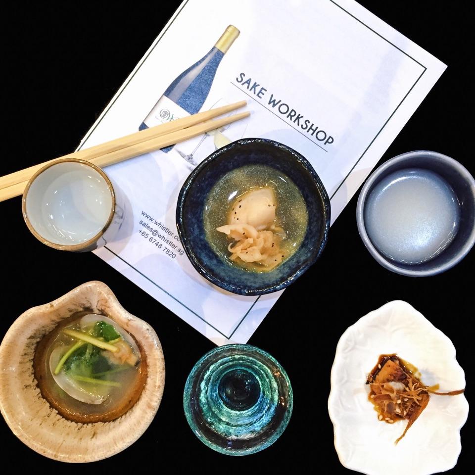 Sake Food Pairing