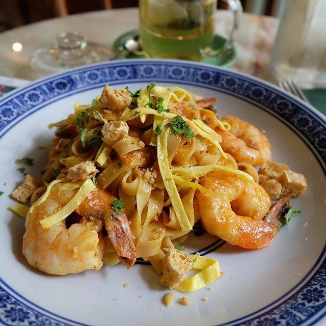 Shrimp Laksa Tagliatelle.