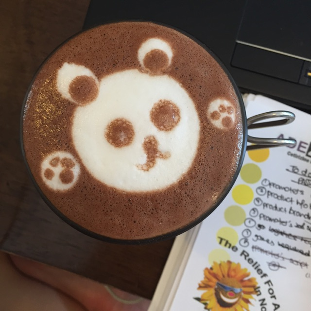 Hot Chocolate ($5.30)