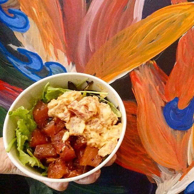 Spicy Mayo Thai Seaweed Ahi @pololisg  Pololi is the Haiwaiian poke bowl originated from Hong Kong.