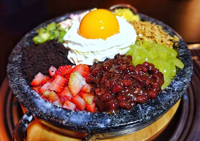 Be refreshed by the Bibimbap Bingsu after having Korean BBQ @8koreanbbq  A bingsu in disguise, do not be deceived by the appearance of this instagram worthy dessert.