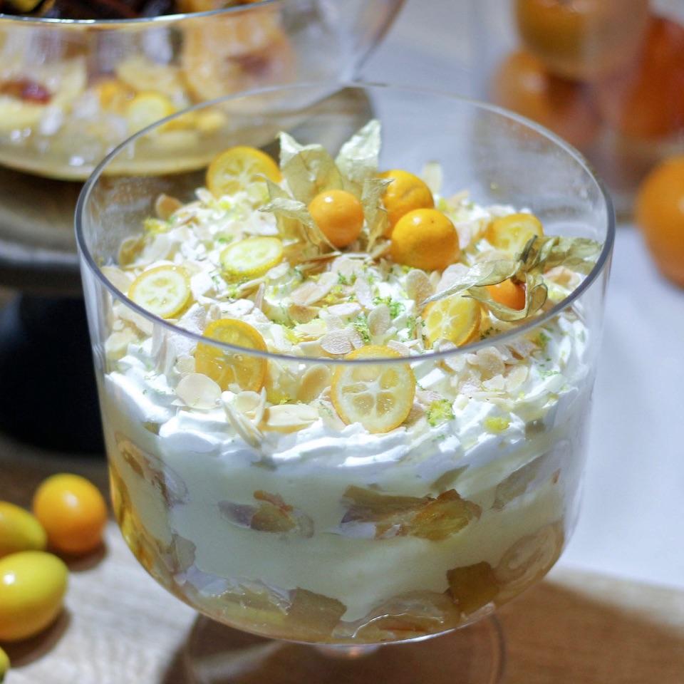 Yuzu Trifle