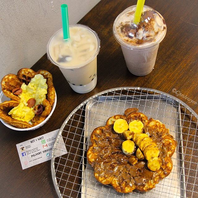 Missing the crisp buttermilk waffles I had at @nitngrit located in Hougang Green Mall.