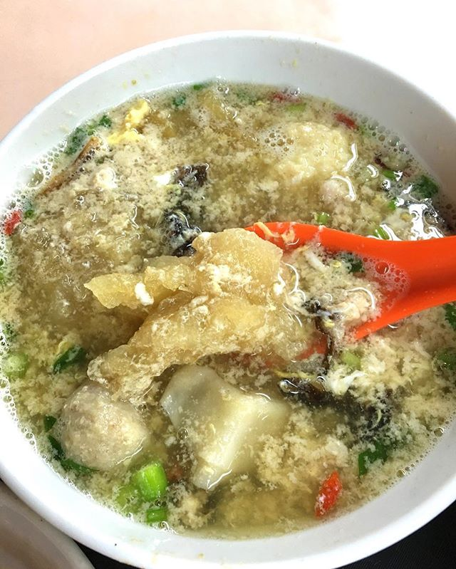 $8 fish maw soup!