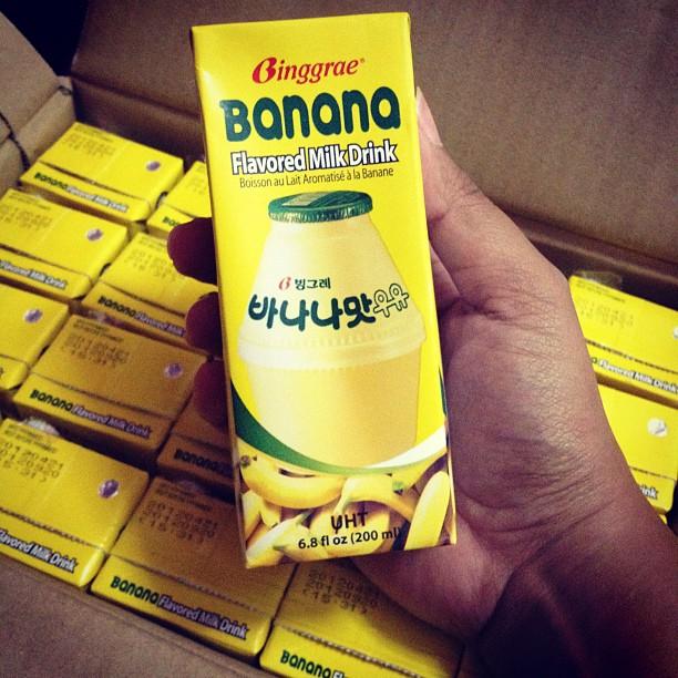 Yay A Carton Of Banana Milk From Korea Is Fi 1318 1408