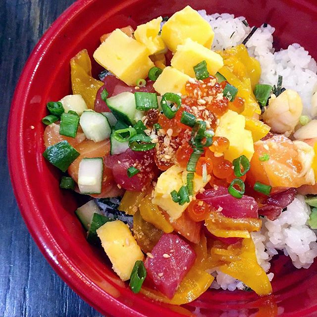 Welcome May with the Signature Kaisen Don ($16) at 50% off, so $8 per bowl?!