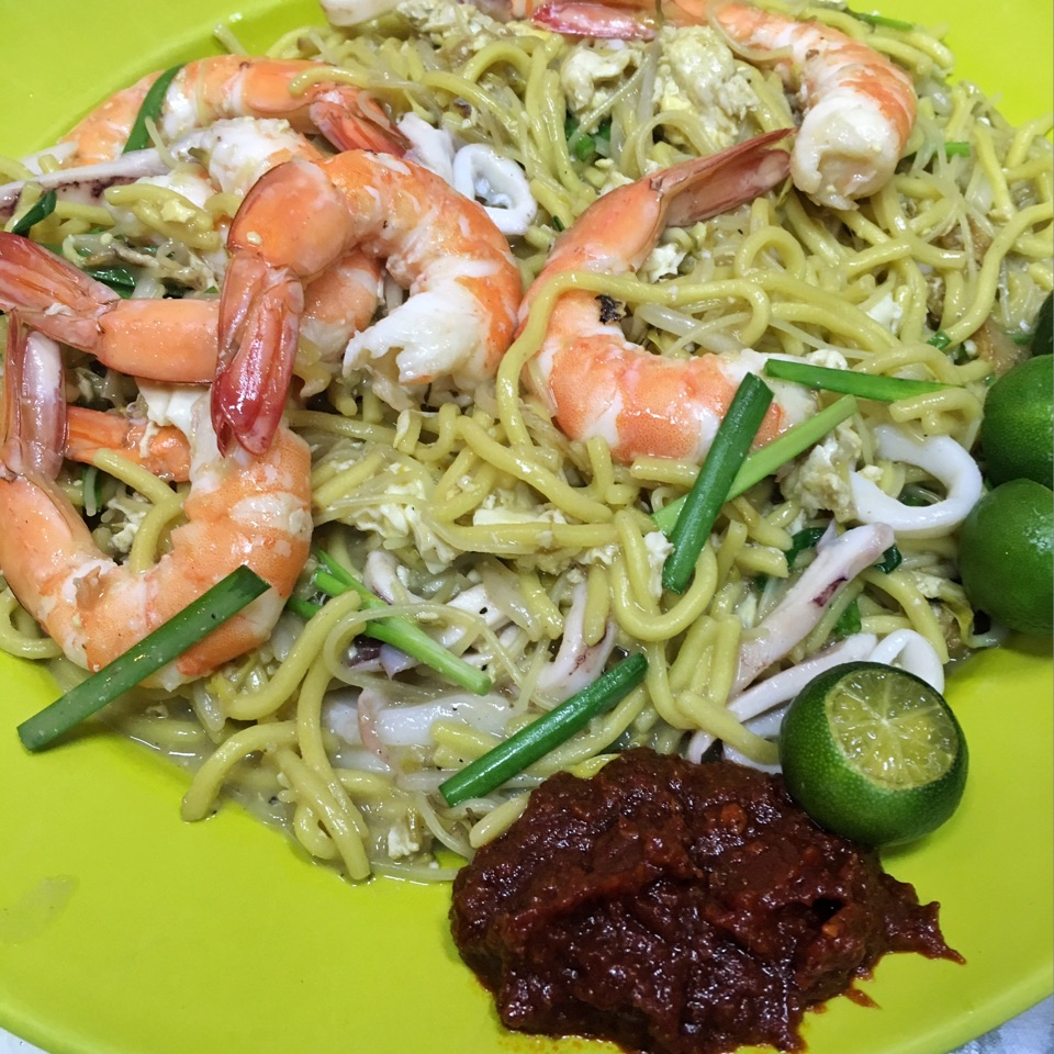 Charcoal-cooked Hokkien Mee ($15 Medium)