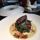 2 Course Set Lunch ($18): Potato Cream Soup, Beef Medallion