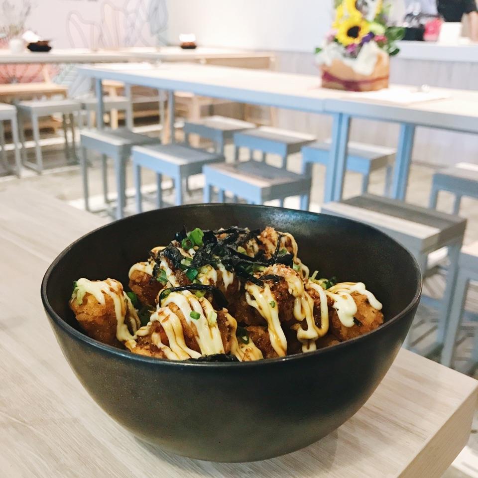 Okonomiyaki Truffle Tots ($12)