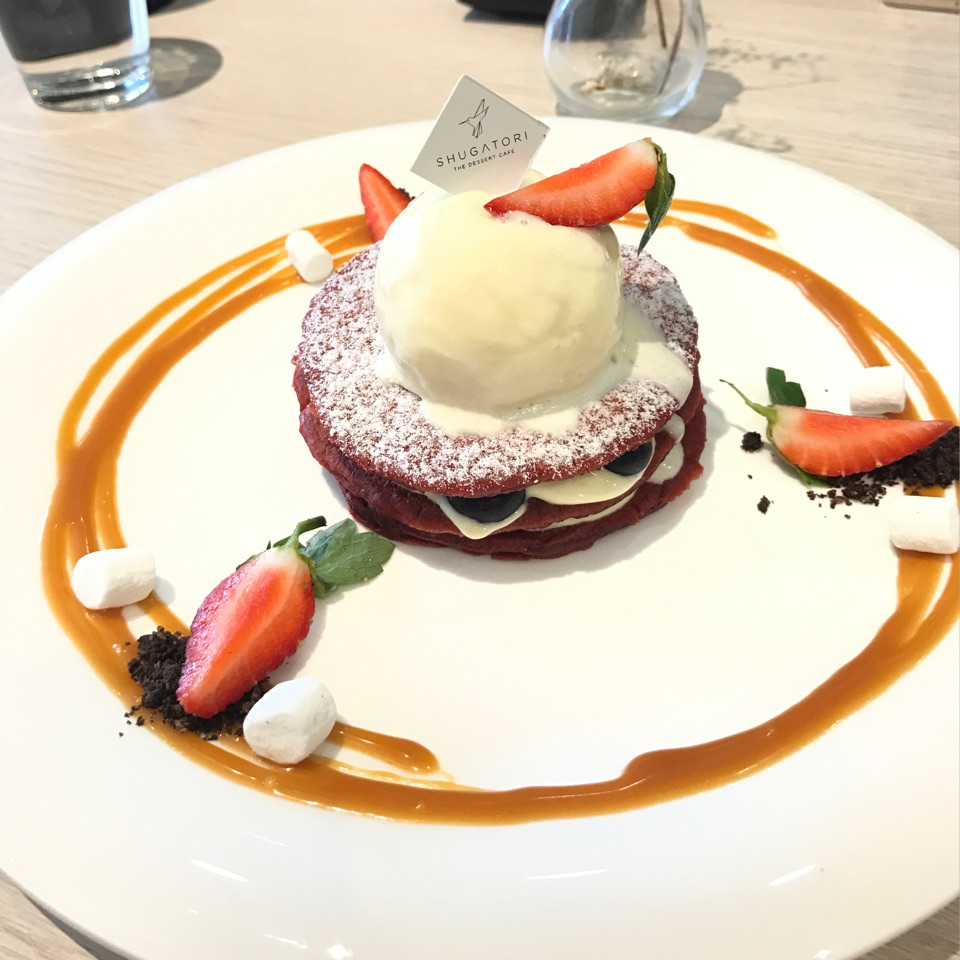 Red Velvet Pancakes (RM20+)
