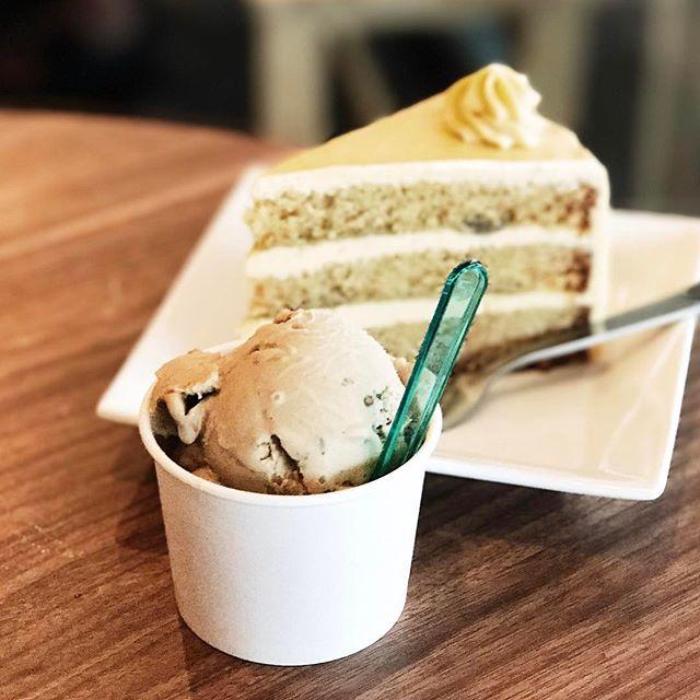 Gula melaka pecan ice cream to celebrate the middle of the weekend?