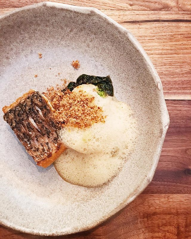 There's pan fried barramundi and there's pan fried barramundi from @cheekbyjowlsg.