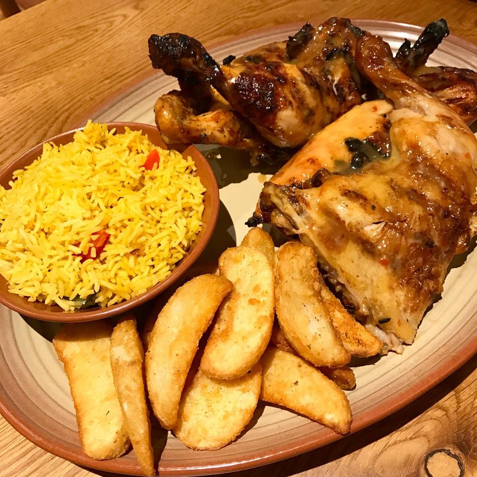 Mango Lime Peri-Peri Chicken