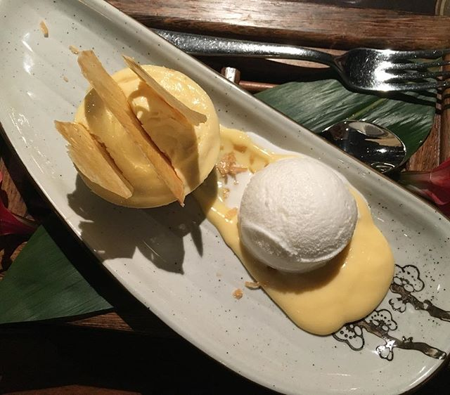 Just some pineapple dessert to last me through the week.