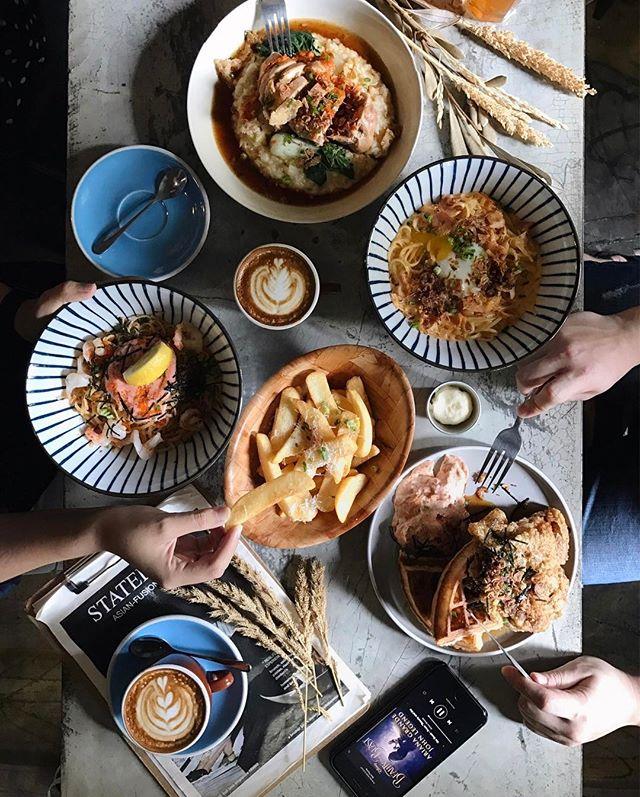Weekend with foodies!