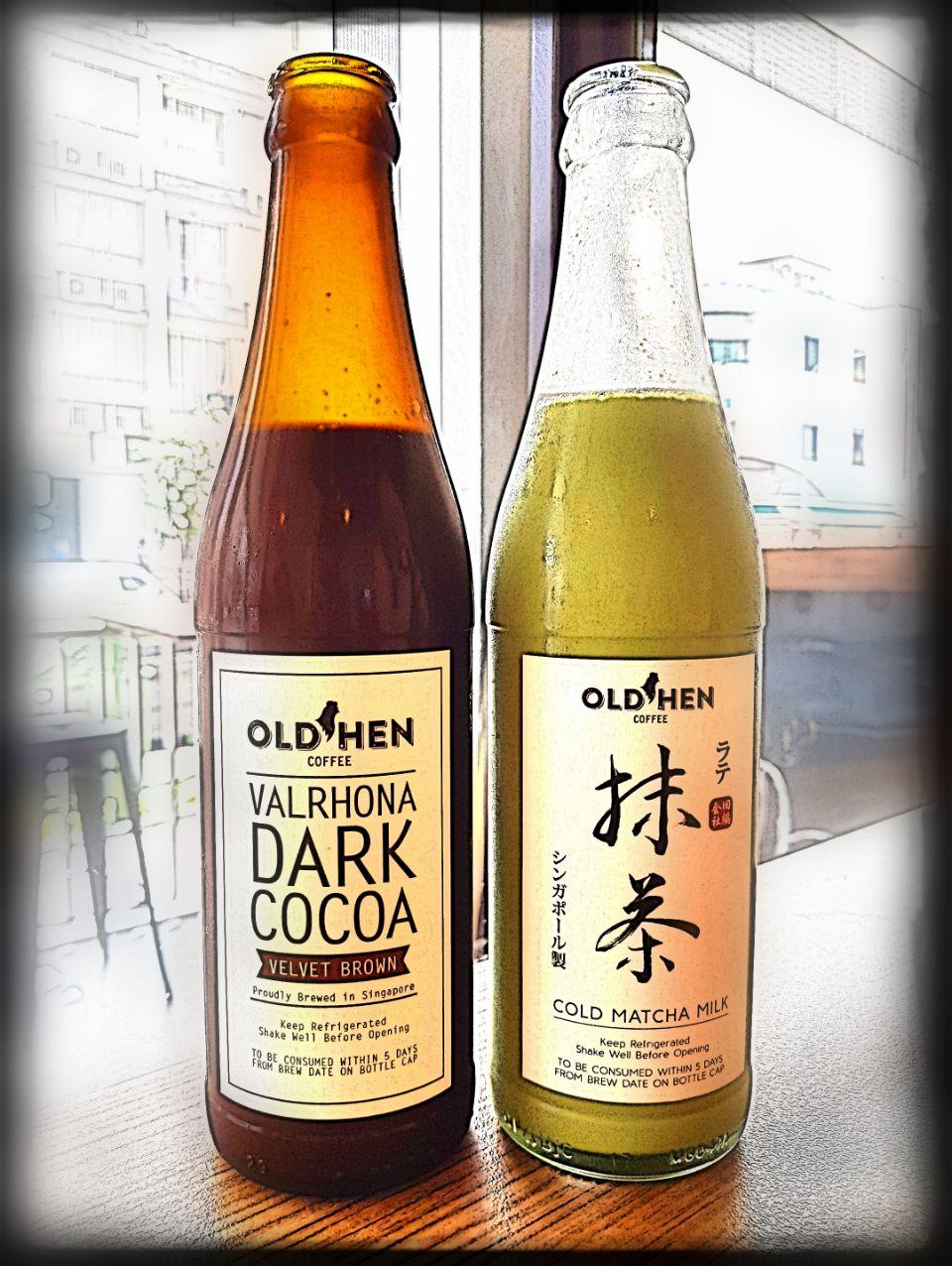Dark Cocoa & Matcha Milk