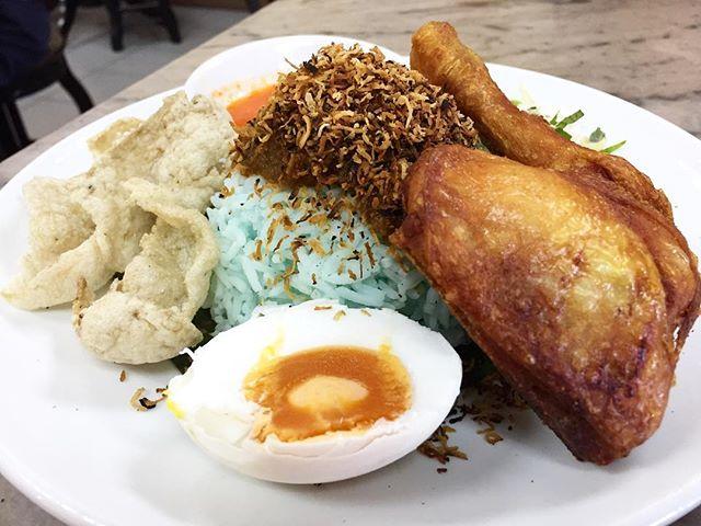 Nasi Kerabu @ Tang Pin Kitchen.