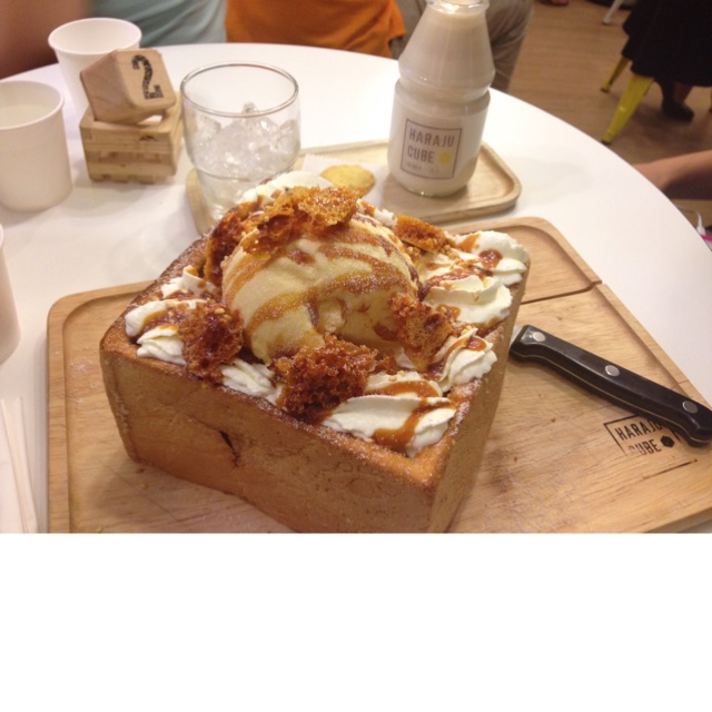 Caramel Honey Toast