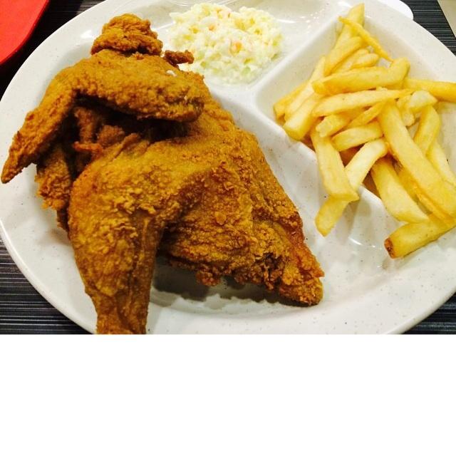 Half Spring Chicken