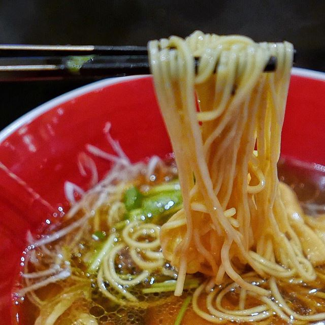 The key to visiting this Michelin Starred Ramen shop from Japan is to go at off-peak hours.