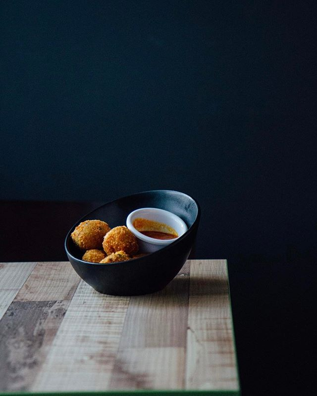 Dreaming of these awesome mac and cheese balls.