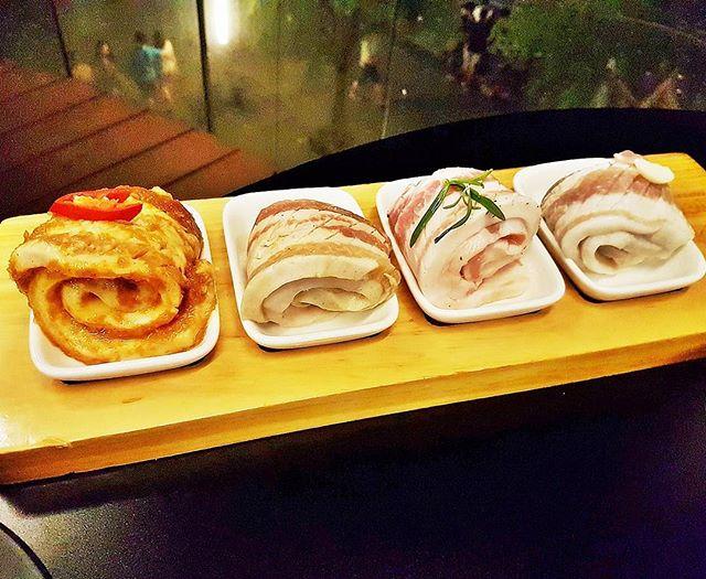 Mangalica Pork Belly 4 Flavours (SGD $58 Set) @ 8 E!ght Korean BBQ.