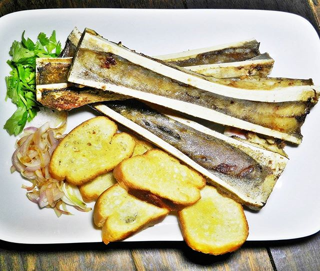 Baked Bone Marrow (SGD $12) @ Nassim Hill Bakery Bistro Bar.