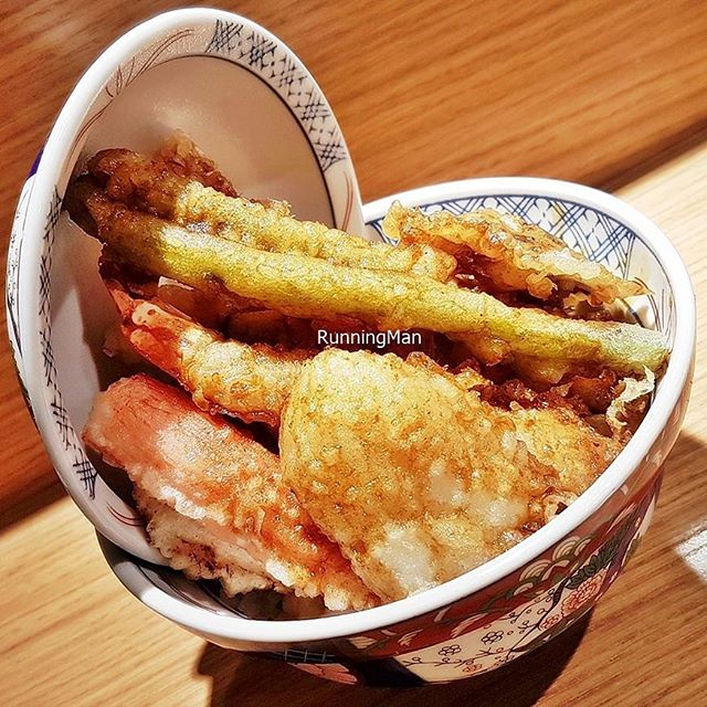 Spicy Kohaku Tendon (SGD $15) @ Tempura Kohaku.