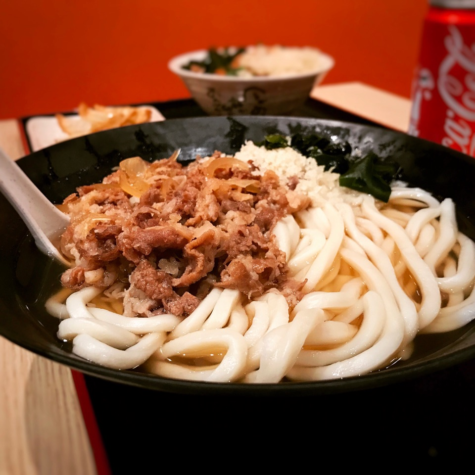 XL Beef Udon • $10.80 (Promo Price)