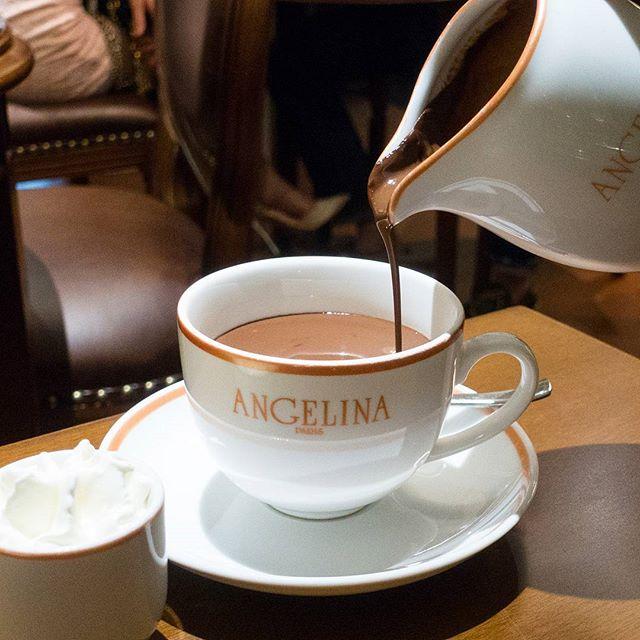 Chocolate elixir to conclude an intense day 😥 #angelina #sweettreat #sweettooth #hotchocolate #instafood #foodstagram #sharefood #foodspotting #sgfood #sgfoodie #fooddiaries #onthetable #instayum #yummers #whatiate #burpple #hungrygowhere #lifeisdeliciousinsingapore #whatiate #whatiatetoday #yummers #instagramsg #sgig #igsg #sgblog #instadrink #chocolate