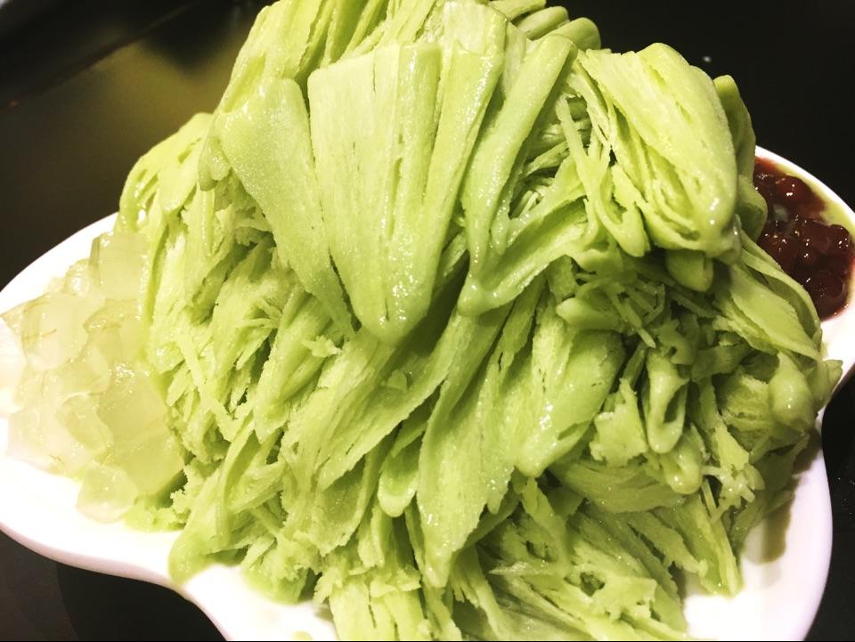 Matcha Sorbet ($6.30) - Leung Kee Healthy Dessert