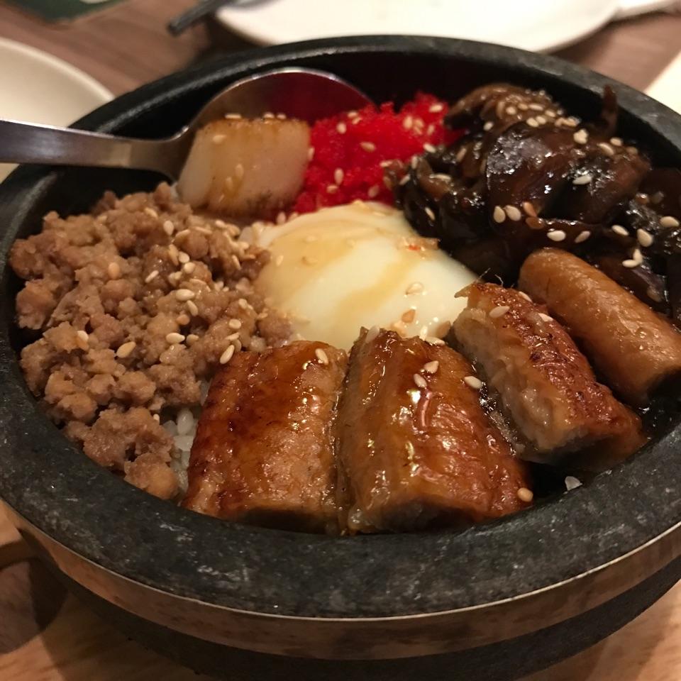 Stone bowl rice
