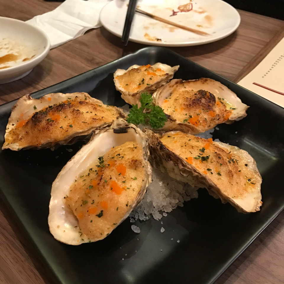 Creamy Baked Oyster