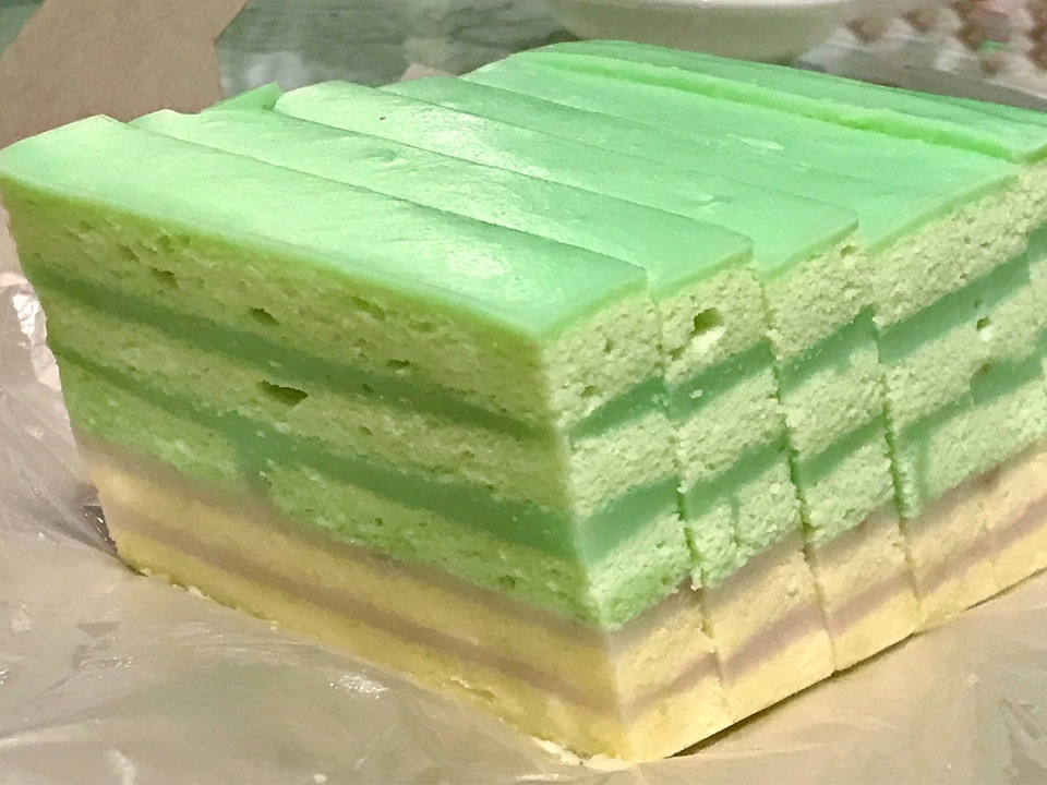 The Dual Pandan And Yam Layer Cake By Ben Gee
