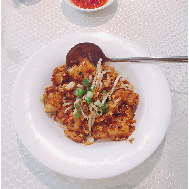 This dish of Pan-fried carrot cake in XO sauce (S$8++) has got to be my fave!