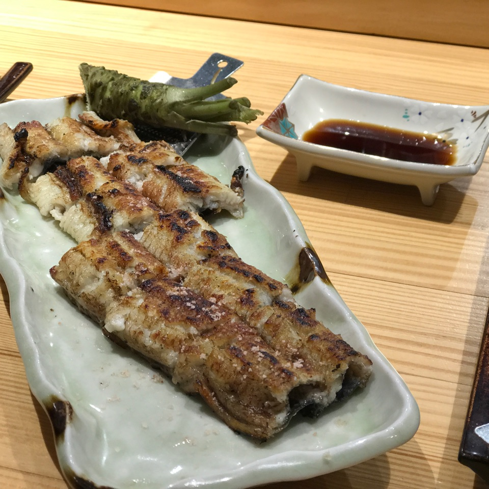 Shirayaki Unagi ($24.80)