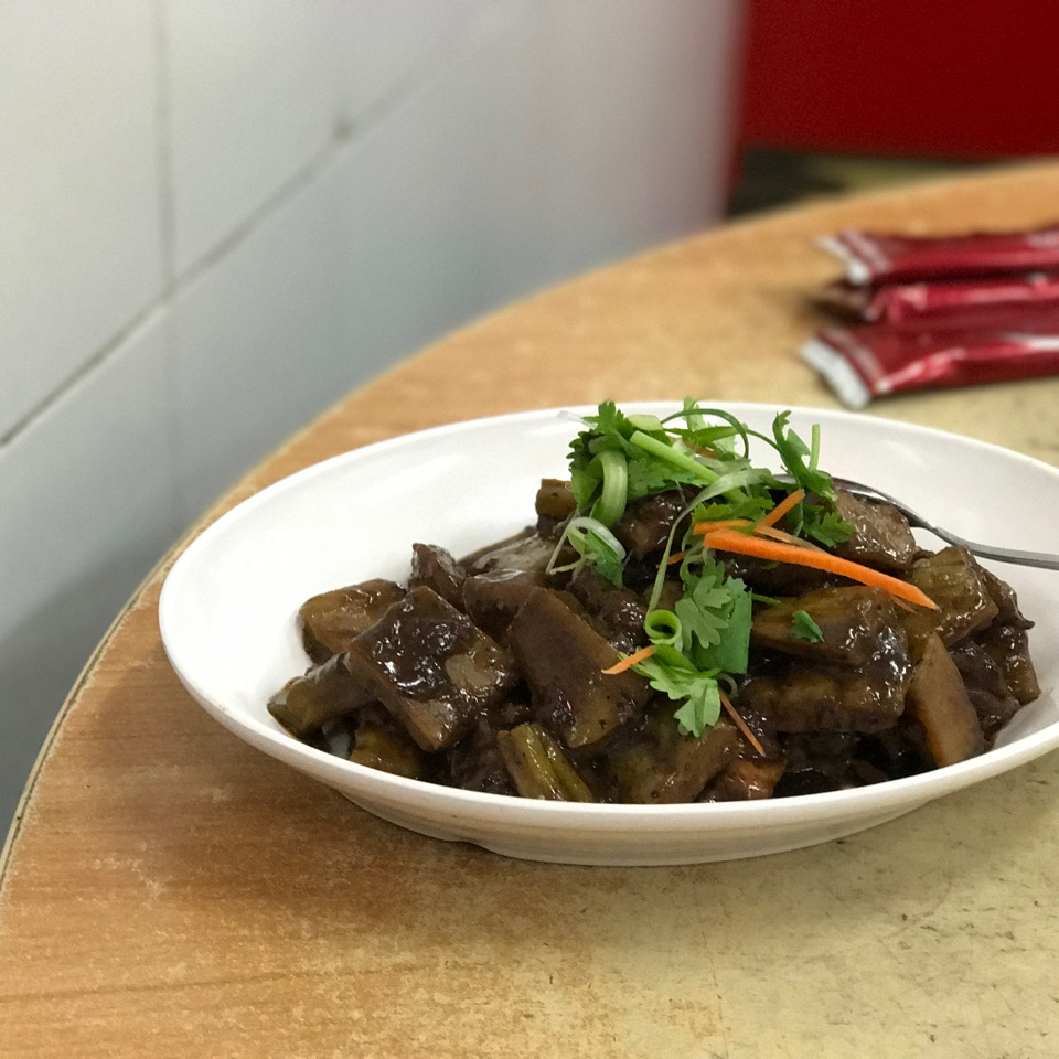 Bitter Gourd Pork Ribs Braised with Black Bean Sauce