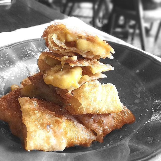 Best item I had the other day 🍌 Banana Roti..