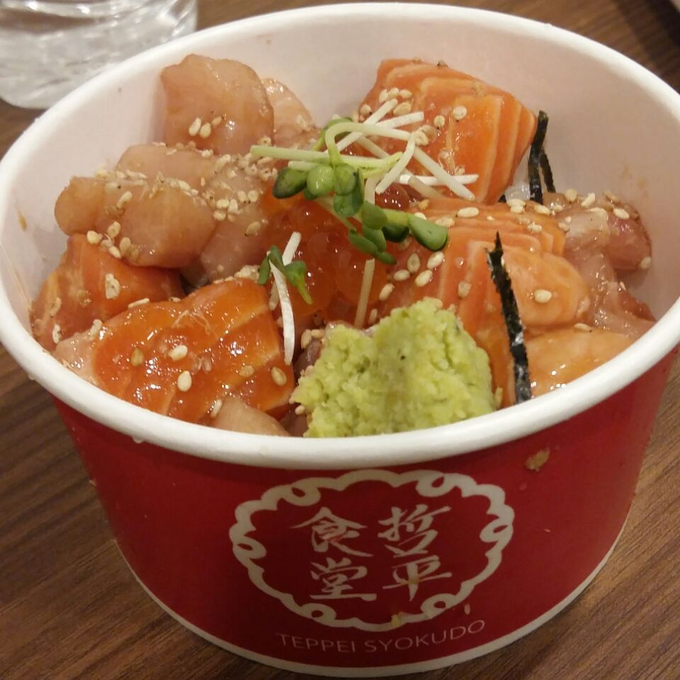 Value for money Sashimi dons