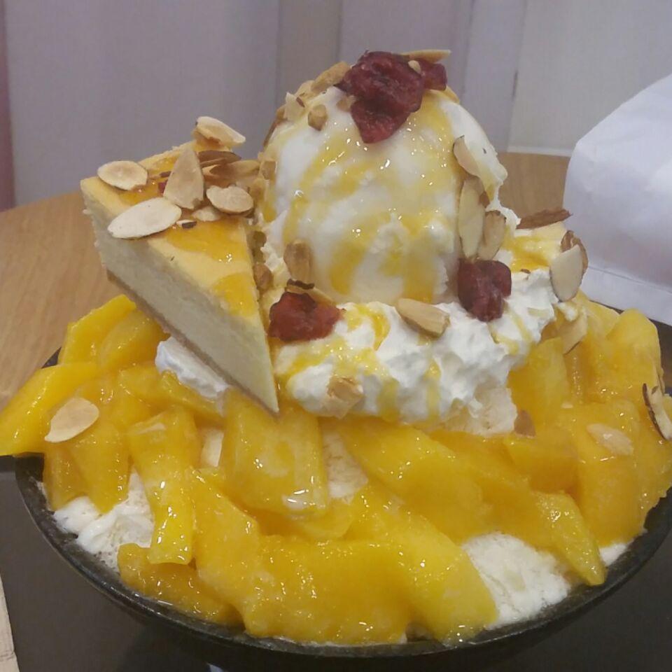 CHEESE mango Bingsu $18.90