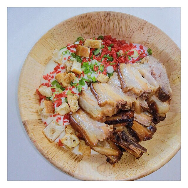 Pork Belly in Kakuni Style ($16.9).