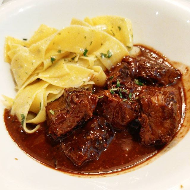 This was the second main course item we tried from the Chocolat Fetish menu, Braised Wagyu with Homemade Parpadelle (ala carte $30++).